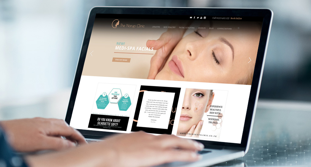 Aesthetic Clinic Website Design