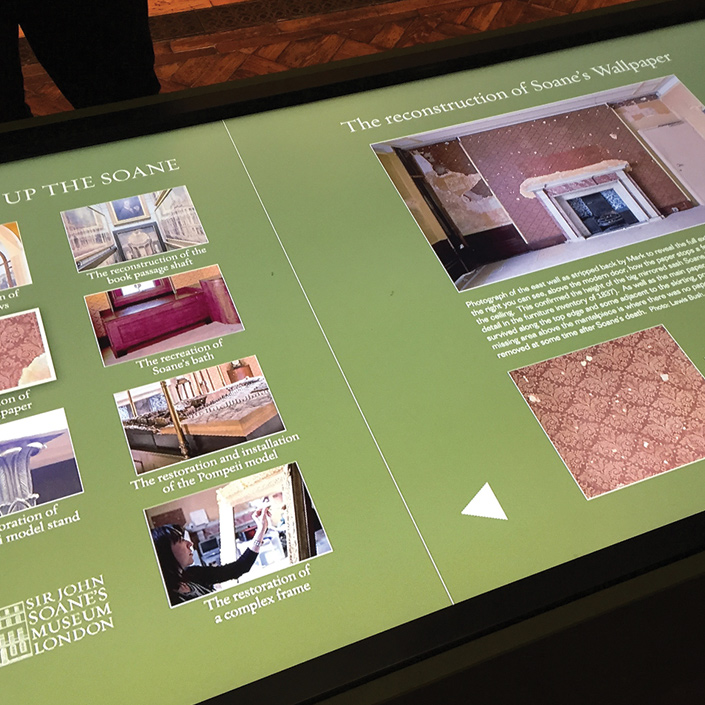 Museum Touchscreen Programme