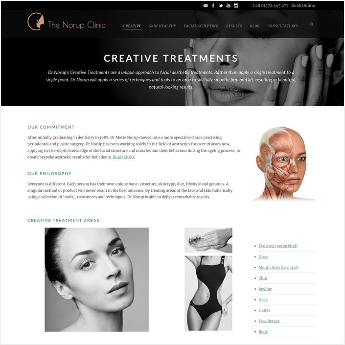 aesthetics marketing & copywriting