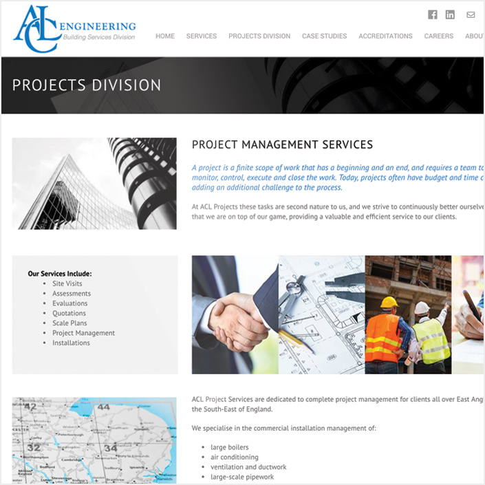 building projects website