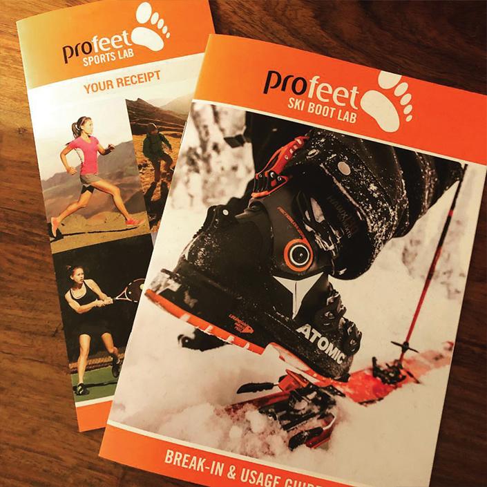 profeet brochure and leaflet design