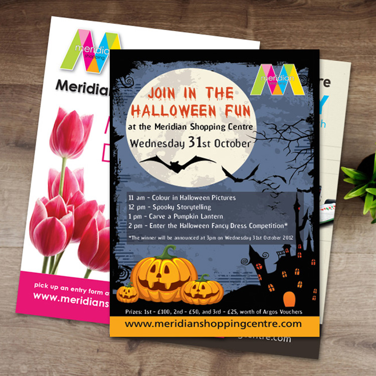 retail promotional leaflets