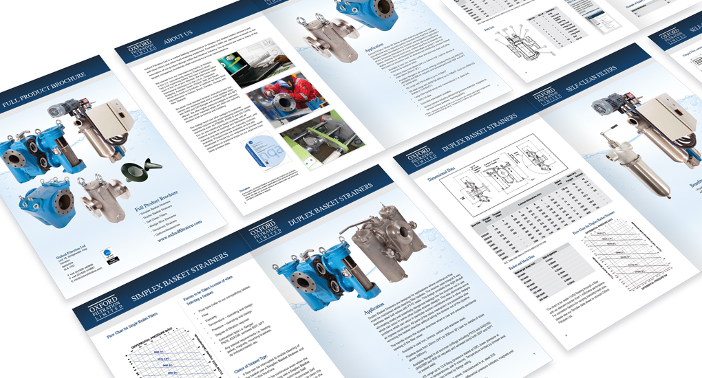 technical brochure design