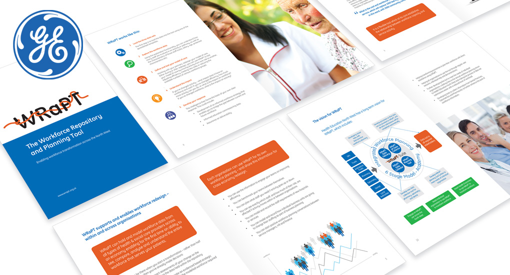 GE Healthcare Brochure Design