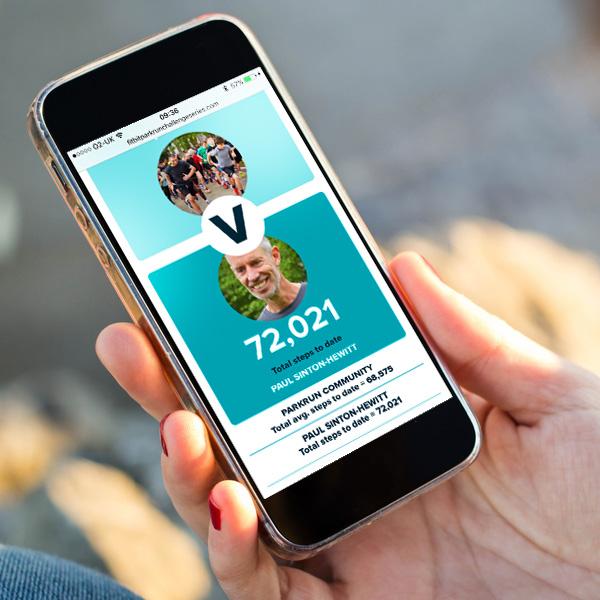 Fitbit Parkrun Challenge design