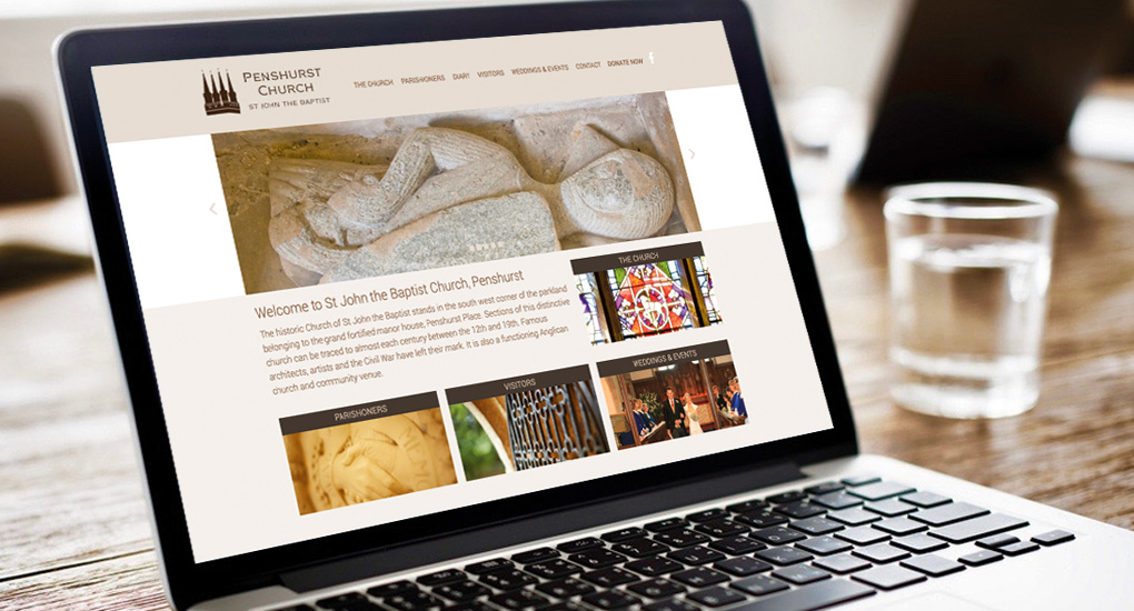 Penshurst website design