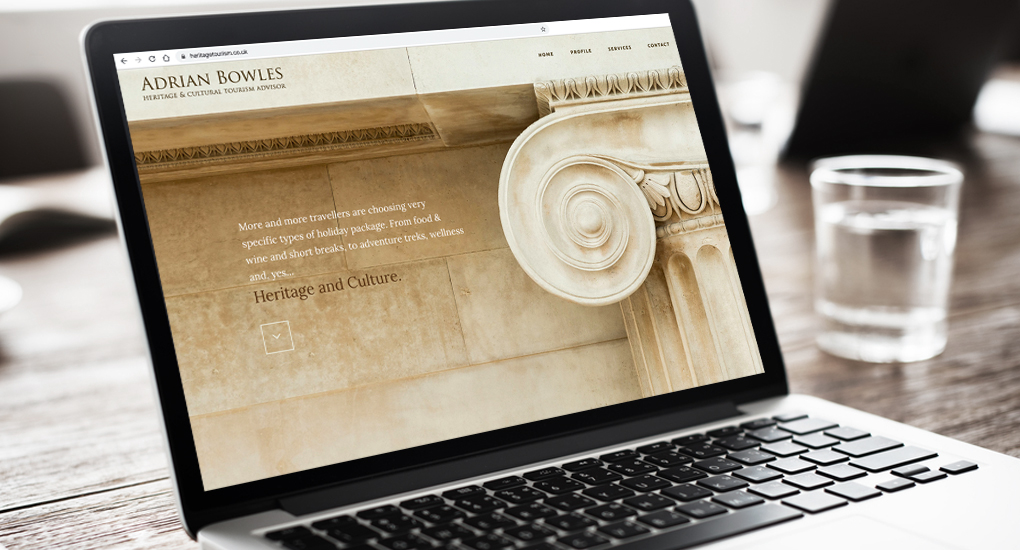 Heritage & Tourism website design