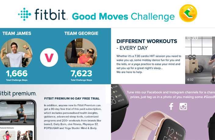 Fitbit Home Challenge
